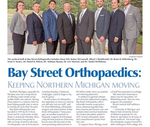 Bay Street Orthopaedics:  Keeping Northern Michigan Moving